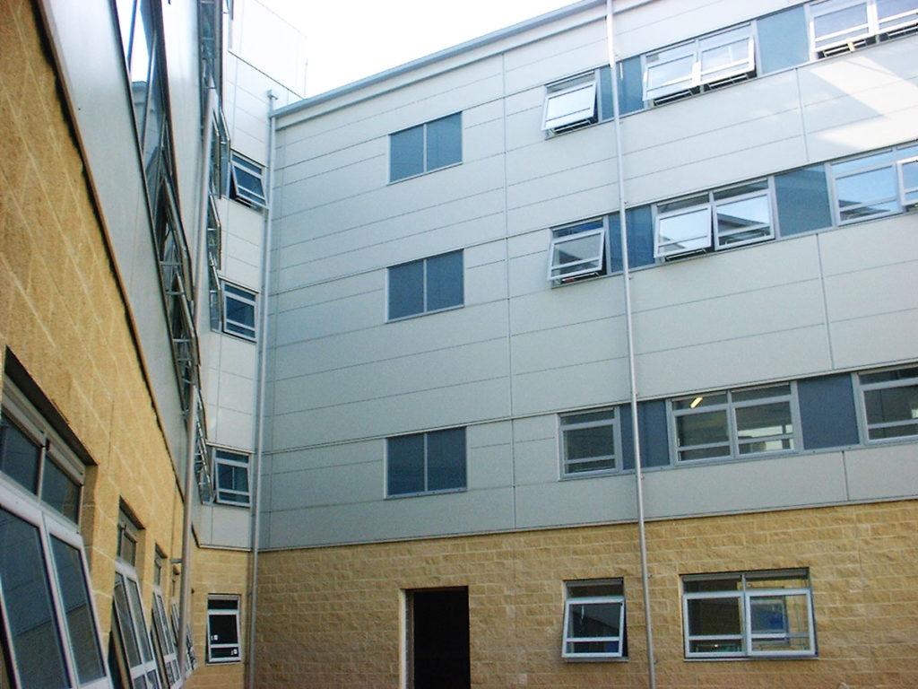 Stoke Mandeville Hospital Aylesbury Construction Profiles