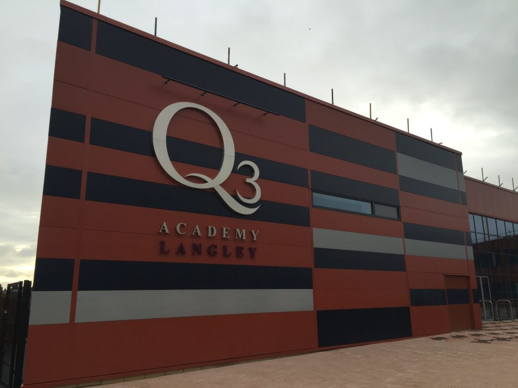 Q3 Langley Academy Birmingham Construction Profiles
